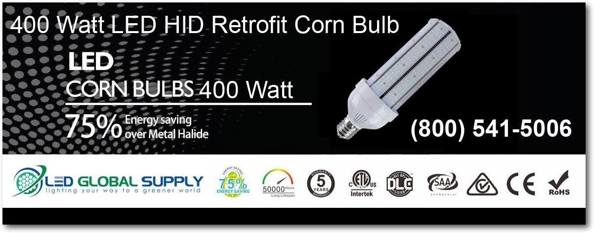 400 Watt LED HID Retrofit Corn Bulb